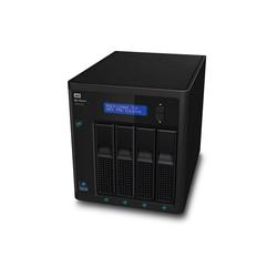 WD My Cloud EX4100 Case NAS 4-Bay Zentraler Netzwerkspeicher schwarz 16 TB