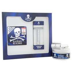 The Bluebeards Revenge Shaving Cream & Scimtar Razor Kit