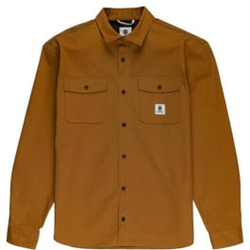 Element - Builder Ls Repreve Gold Brown - Hemden - Größe: S