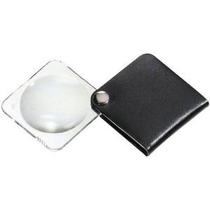 Eschenbach 1752560 Leder-Einschlaglupe Vergrößerungsfaktor: 3.5 x Linsengröße: (Ø) 60mm Schwarz