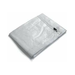 Abdeckplane Leno   240 g/m²   8x14 m   Weiß/Transparent