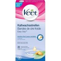 Veet Easy-Gelwax Technology Kaltwachsstreifen Sensitive Haut 20 St.