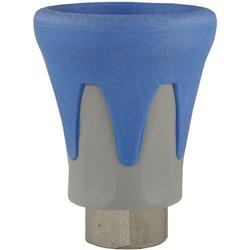 Düsenschutz ST-10, 1/4 Zoll Düsenaufnahme, max. 400 bar, Farbe: Grau / Blau, Typ: Edelstahl