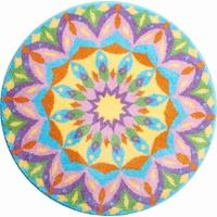 Grund Mandala GEBURT, 100% cm rund,