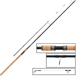 Fox EOS Barbel Specialist Rod 12ft 2,25lbs - Friedfischrute für Barben, Angelrute zum Barbenangeln, Rute zum Friedfischangeln
