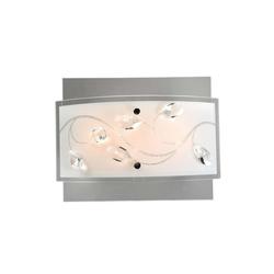 Esto Deckenleuchten ESTO LORENA Wandleuchte Deckenleuchte Chrom Kristallglas LED 748000