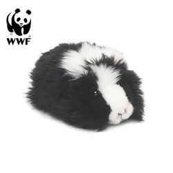 WWF Plüschfigur Plüschtier Meerschweinchen (19cm, schwarz)