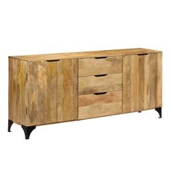 vidaXL Sideboard vidaXL Sideboard Mangoholz Massiv 180 x 40 x 80 cm