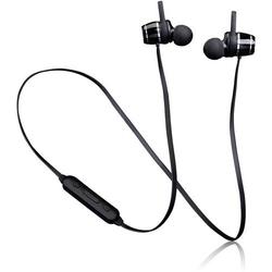 Lenco EPB-030BK Bluetooth® Sport In Ear Kopfhörer In Ear Headset, Schweißresistent Schwarz