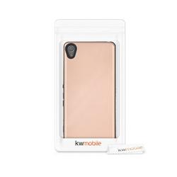kwmobile Handyhülle, Hülle für Sony Xperia XA - Hybrid Handy Cover Case Schutzhülle rosa
