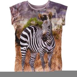 T-Shirt Fotodruck, grau, Gr. 152/158 - 152/158 - grau