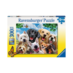 Ravensburger Puzzle Puzzle, 300 Teile XXL, 49x36 cm, Delighted Dogs, Puzzleteile