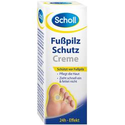 Scholl Fußpflegecreme Fußpilz Schutzcreme Spar-Set, 6-tlg.