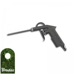 Druckluftpistole Ausblaspistole für Kompressor Düse 200mm Druckluft Reinigungspistole Luftpistole STG17 Bradas 1406