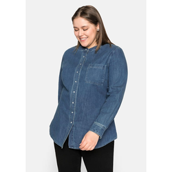 Sheego Jeansbluse Sheego blue Denim