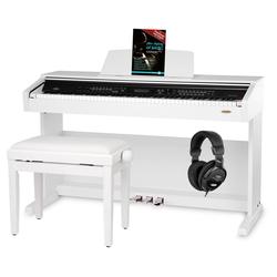 Classic Cantabile DP-A 310 WM E-Piano SET weiß matt