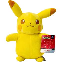 Plüschfigur Pokémon Pikachu Monochrom, 20 cm