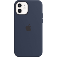 Apple iPhone 12 Pro Max Silikon Case mit MagSafe dunkelmarine