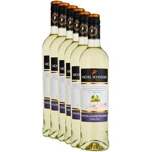 Michel Schneider Riesling Gewürztraminer Lieblich (6 x 0.75 l)