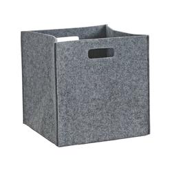Aufbewahrungskorb, eckig grau