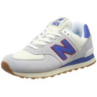 NEW BALANCE ML574 light grey-blue/ white-gum, 42.5