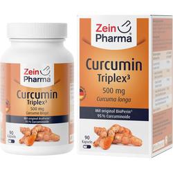 CURCUMIN-TRIPLEX3 500 mg/Kap.95% Curcumin+BioPerin 90 St.