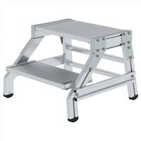 Günzburger Aluminium-Montagetritt 2 Stufen (50172)