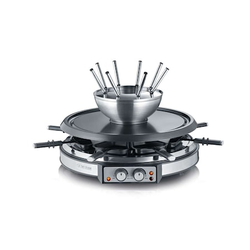 Severin 2-in-1 Raclette & Fondue