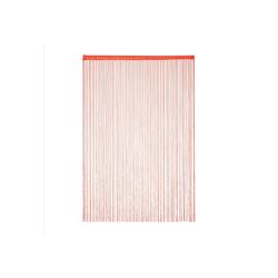 Fadenvorhang Fadenvorhang rot, relaxdays 145 cm x 245 cm