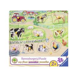 Ravensburger Steckpuzzle, Puzzleteile