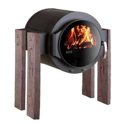 Kanuk GmbH Kaminofen Kanuk® STAND Wood Eiche rustikal