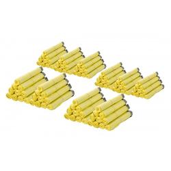 100 Rollen Gelber Sack, Gelbe Säcke 90 Liter HDPE Gelb 13 Stück pro Rolle