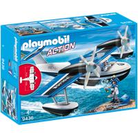 Playmobil Action Polizei-Wasserflugzeug 9436