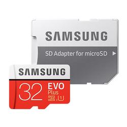 Samsung 32GB EVO Plus microSD Speicherkarte (2017) [+SD-Adapter]
