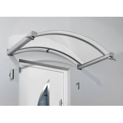 Bogenvordach Typ BV/B, 2000 x 900 x 250 mm, Farbe weiß -20 kg