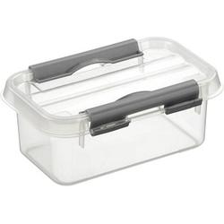 sunware Q-line Aufbewahrungsbox 0,5 l transparent 15,0 x 10,0 x 6,3 cm