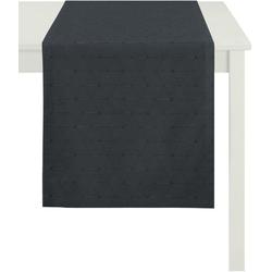 APELT Tischdecke 7901 Uni (1-tlg), Fleckschutz grau 85 cm x 85 cm