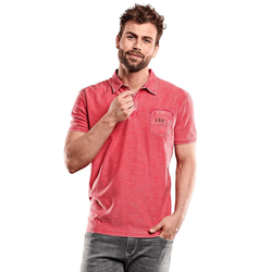 Poloshirt Engbers Pastellrot