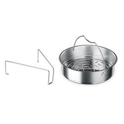 Fissler Dampfgareinsatz, Für den Schnellkochtopf silberfarben Zubehör für Töpfe Haushaltswaren Topfeinsätze