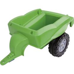 BIG Trailer grün Rutschauto-Anhänger Grün