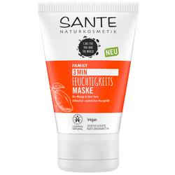 SANTE 3 Minuten Feuchtigkeits Maske Bio-Mango & Aloe Vera 100 ml