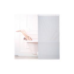 relaxdays Duschrollo Duschrollo weiß Breite 80 cm 80 cm x 240 cm