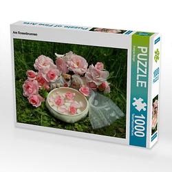 Am Rosenbrunnen Lege-Größe 64 x 48 cm Foto-Puzzle Bild von Evelyne Berger Puzzle