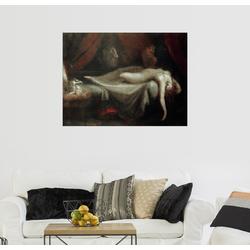 Posterlounge Wandbild, Albtraum 80 cm x 60 cm