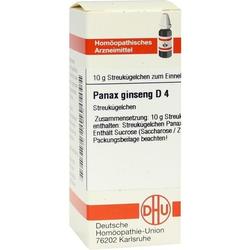 PANAX GINSENG D 4