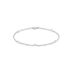 Elli Armband Kristalle 925 Sterling Silber, Kristall Armband 18