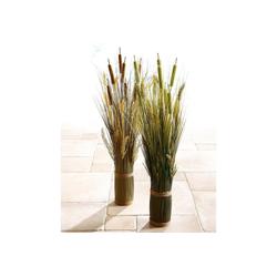 Kunstpflanze Grasarrangement Gras, I.GE.A., Höhe 80 cm grün