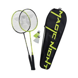 Talbot-Torro Badmintonschläger Badminton Set Magic Night LED
