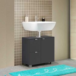 Waschtischunterschrank in Anthrazit 70 cm breit