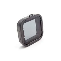 vhbw Filter Linsenschutz grau Unterwasser passend für GoPro Hero 3, 3+, 4.